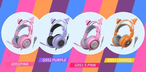 SOMiC Released 4 New Gaming Headphones for Female Gamers'