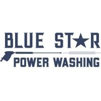 Blue Star Power Washing Logo