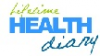 Logo for Lifetime Health Diary'