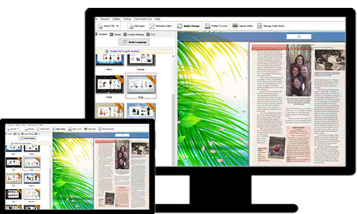 web page flipping book maker'