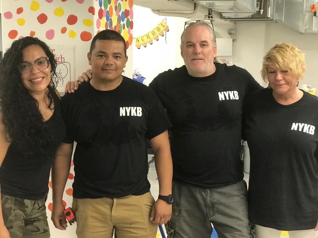 NYKB New Kitchen Donation Team
