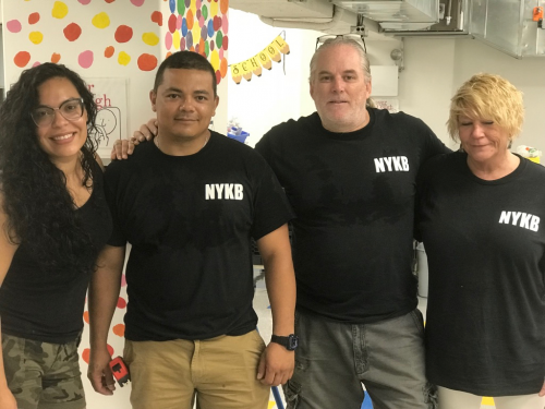 NYKB New Kitchen Donation Team'