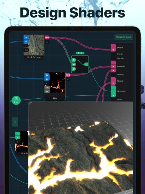 Shade iPad Screenshot'
