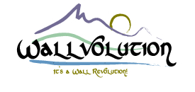 Logo for Wallvolution'