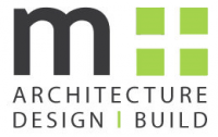 m+ Architecture l Interior Design Logo