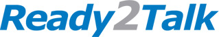 Logo for Ready 2 Talk'