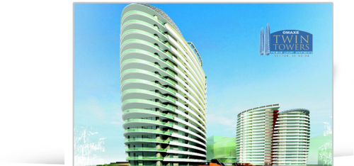 Omaxe Twin Towers | Noida Call@-9910395180'