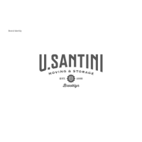 U. Santini Moving and Storage Brooklyn, New York Logo