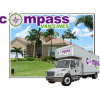 Logo for Compass Van Lines Moving and Storage'