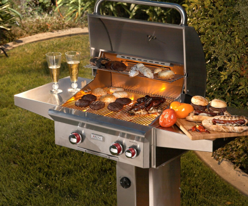 AOG 24NPT Lifestyle Built-in Outdoor Grill by Fire Magic'
