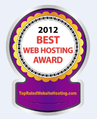 2012 Best Web Hosting Award Winners'