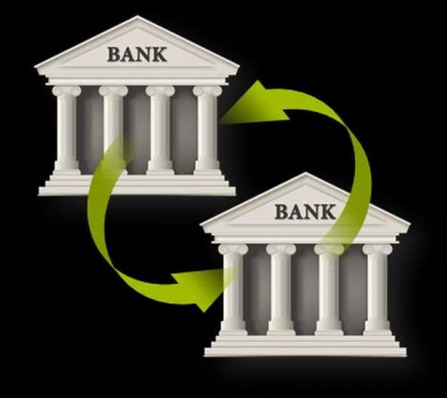 Interbank lending'
