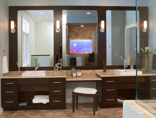 GlassTek Mirror TV'