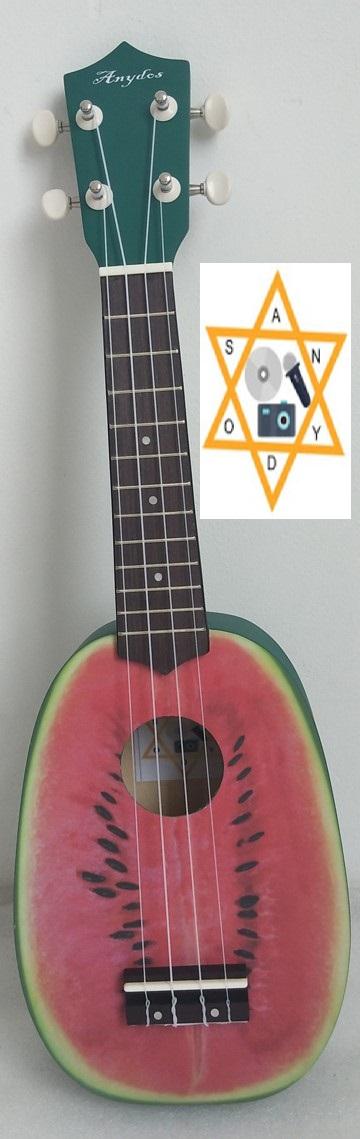 ANYDOS Watermelon Ukulele'