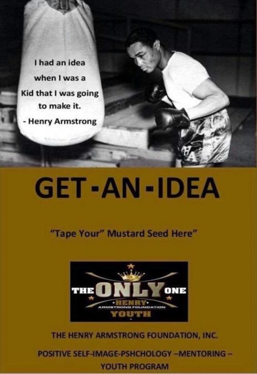Get An Idea Card Front Side'