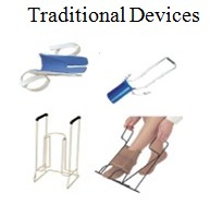traditional devices'