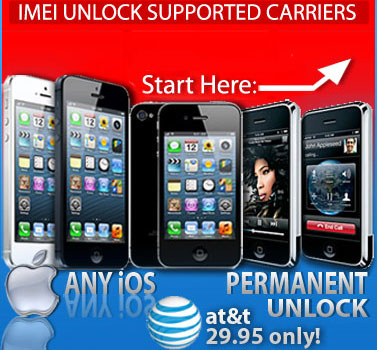 How to unlock your at&t iPhone'