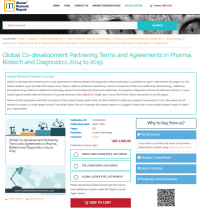Global Co-development Partnering Terms and Agreements