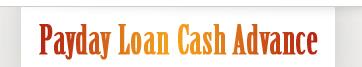 Logo for http://www.paydayloancashadvance.biz/'