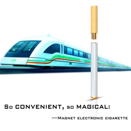 Magnet electronic cigarette'