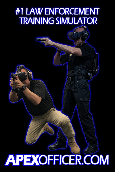 Apex Officer Virtual Reality Training Police Military VR'