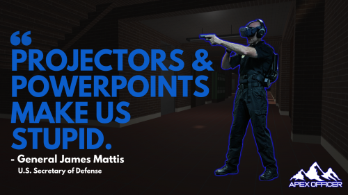 Apex Officer Military Training Air Force Virtual Reality'