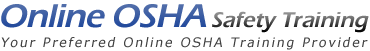 Logo for Online OSHA Safety Training'