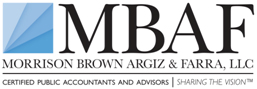 Logo for Morrison Brown Argiz & Farra, LLC'
