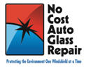 No Cost Auto Glass Repair Logo