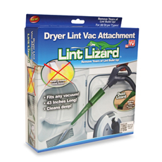 Lint Lizard TV OFFER'