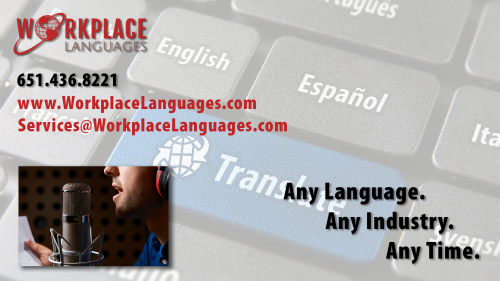 Workplace Languages'