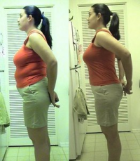 hCG before and after