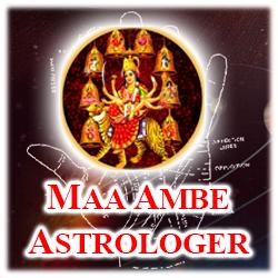Company Logo For Maa Ambe Astrologer'