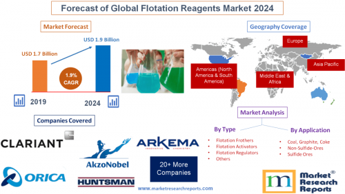Forecast of Global Flotation Reagents Market 2024'