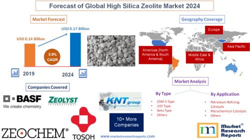Forecast of Global High Silica Zeolite Market 2024'