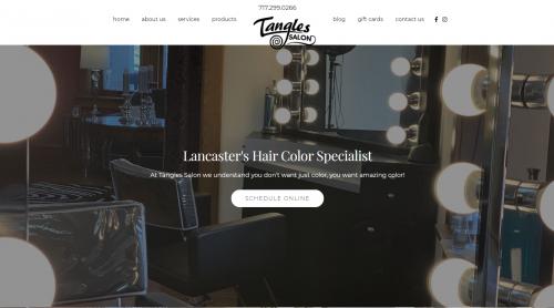 EZMarketing Designs & Develops New Website for Tangl'
