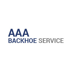 Company Logo For AAA Backhoe Service'