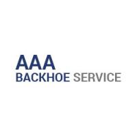 AAA Backhoe Service Logo