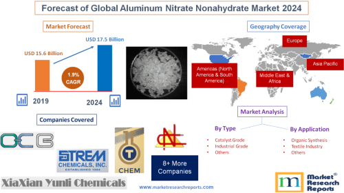 Forecast of Global Aluminum Nitrate Nonahydrate Market 2024'