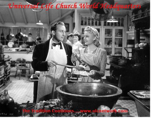 Universal Life Church Bing Crosby'
