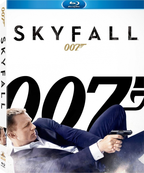 Skyfall DVD Blu-ray'