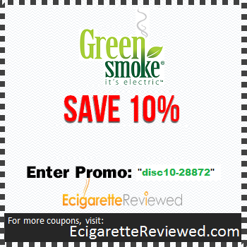 Green Smoke Coupon Code'