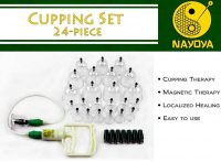 24-Piece Cupping Therapy set from Nayoya