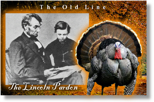 PRESIDENT ABRAHAM LINCOLN  ESTABLISHES THANKSGIVING'