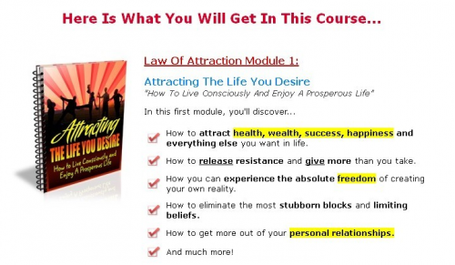 Law of Attraction'