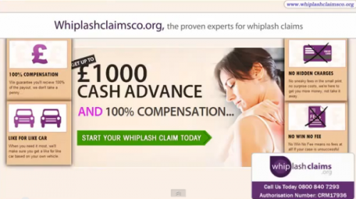 Whiplash Claims Co'
