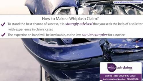 Whiplash Claims'
