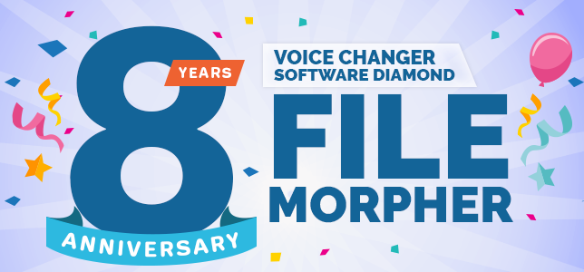 AV Voice Changer Software File Morpher after 8 years