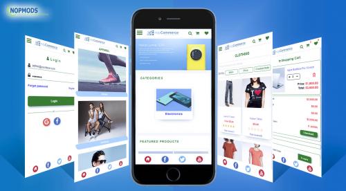 NopCommerce Mobile App'