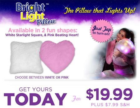 LED Light Cushion'